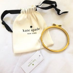 Kate spade♠️ gold studded bow bracelet